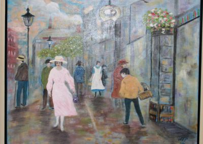Gadeliv i København i 1920'erne