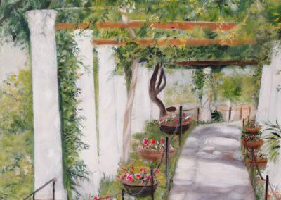 Udsigt fra Munthes villa – Capri