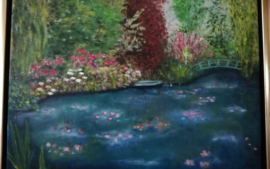 Åkandedammen i Monets have